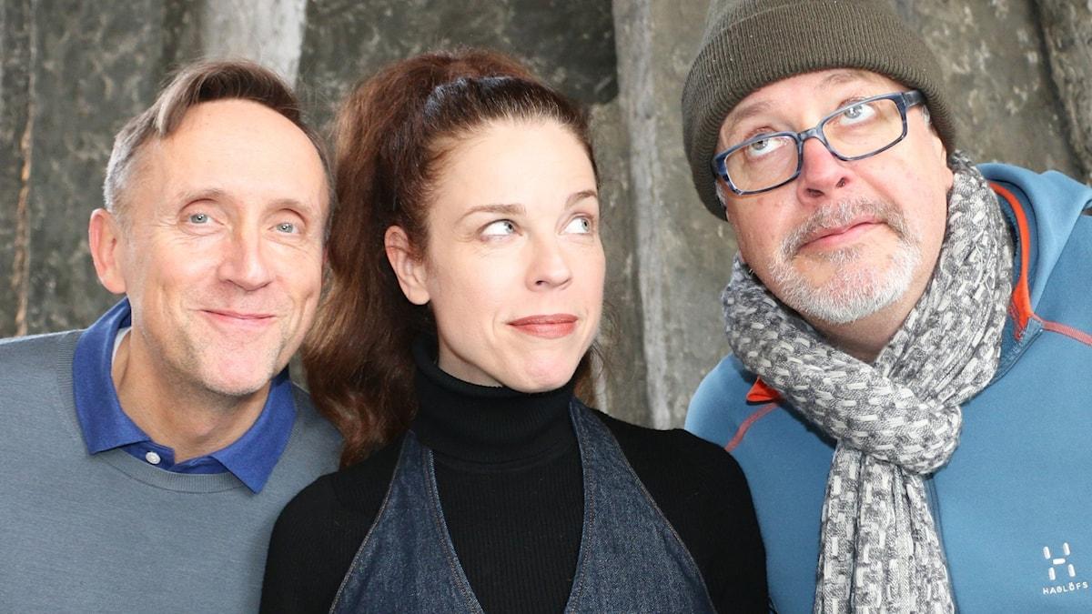 Jessika Gedin, Göran Everdahl och Jonathan Lindström