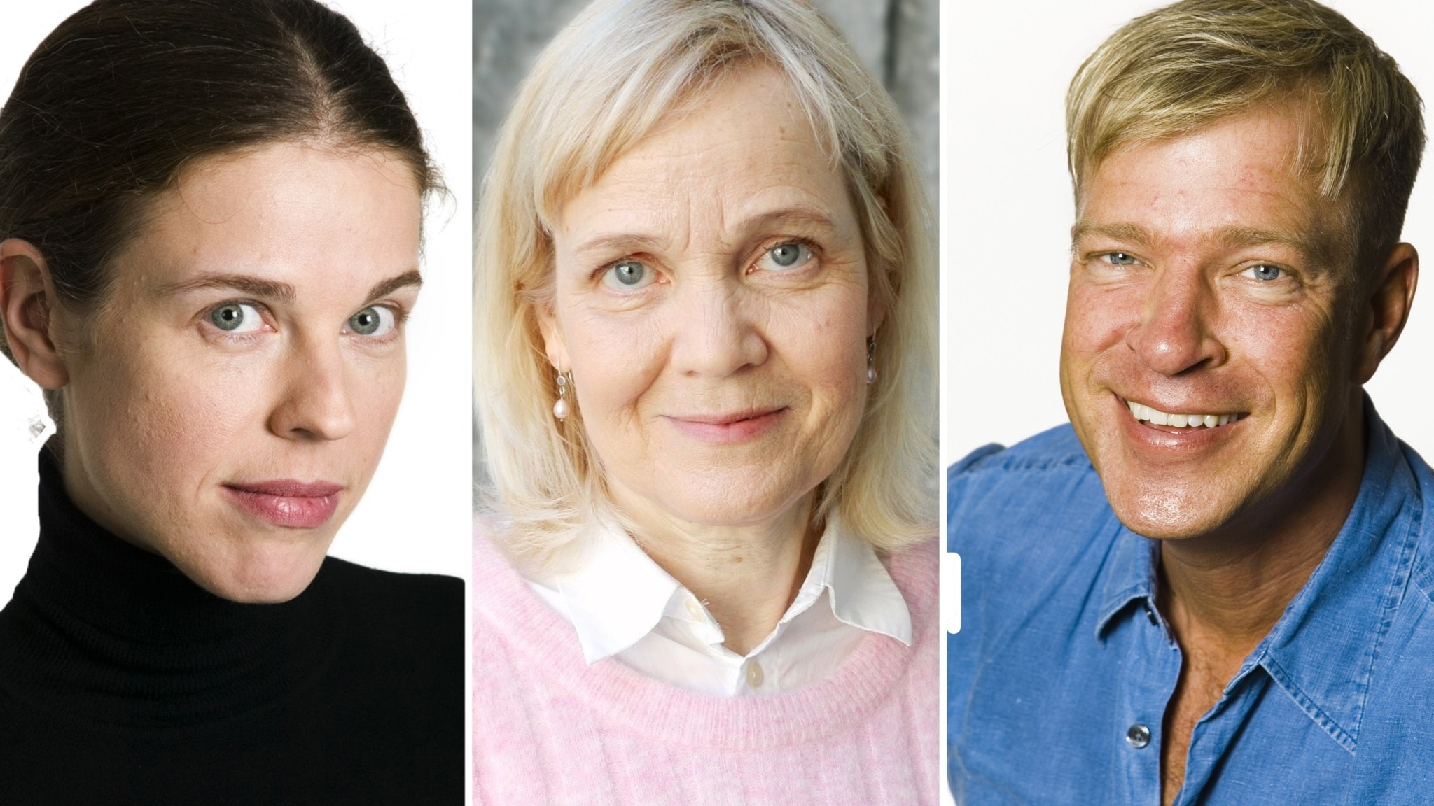 Jessika Gedin, Gabriella Ahlström och Calle Norlén.