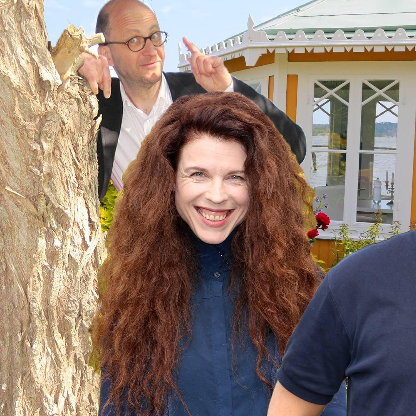 Säsongsavslutning för Spanarna!I panelen: Jessika Gedin, Per Naroskin och Göran Everdahl