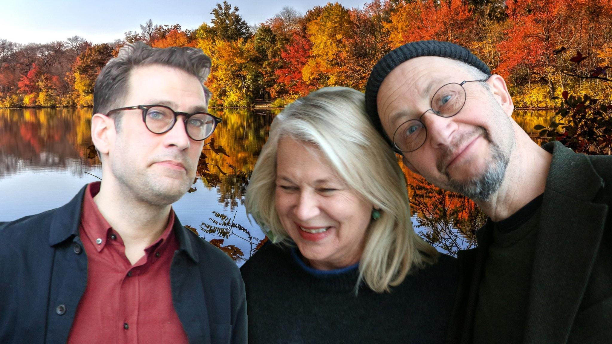 Niklas Källner, Helena von Zweigbergk och Per Naroskin tar oss med till framtiden.