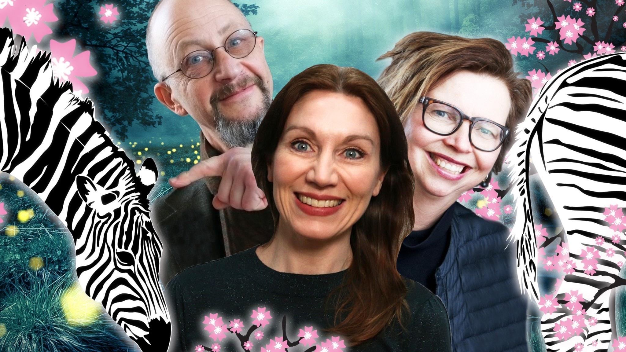 Spanarna är ett program och en podd för dig som gillar samhällsspaning med humor. Spanarna Katarina Barrling, Per Naroskin & Maja Aase tar dig med till framtiden.