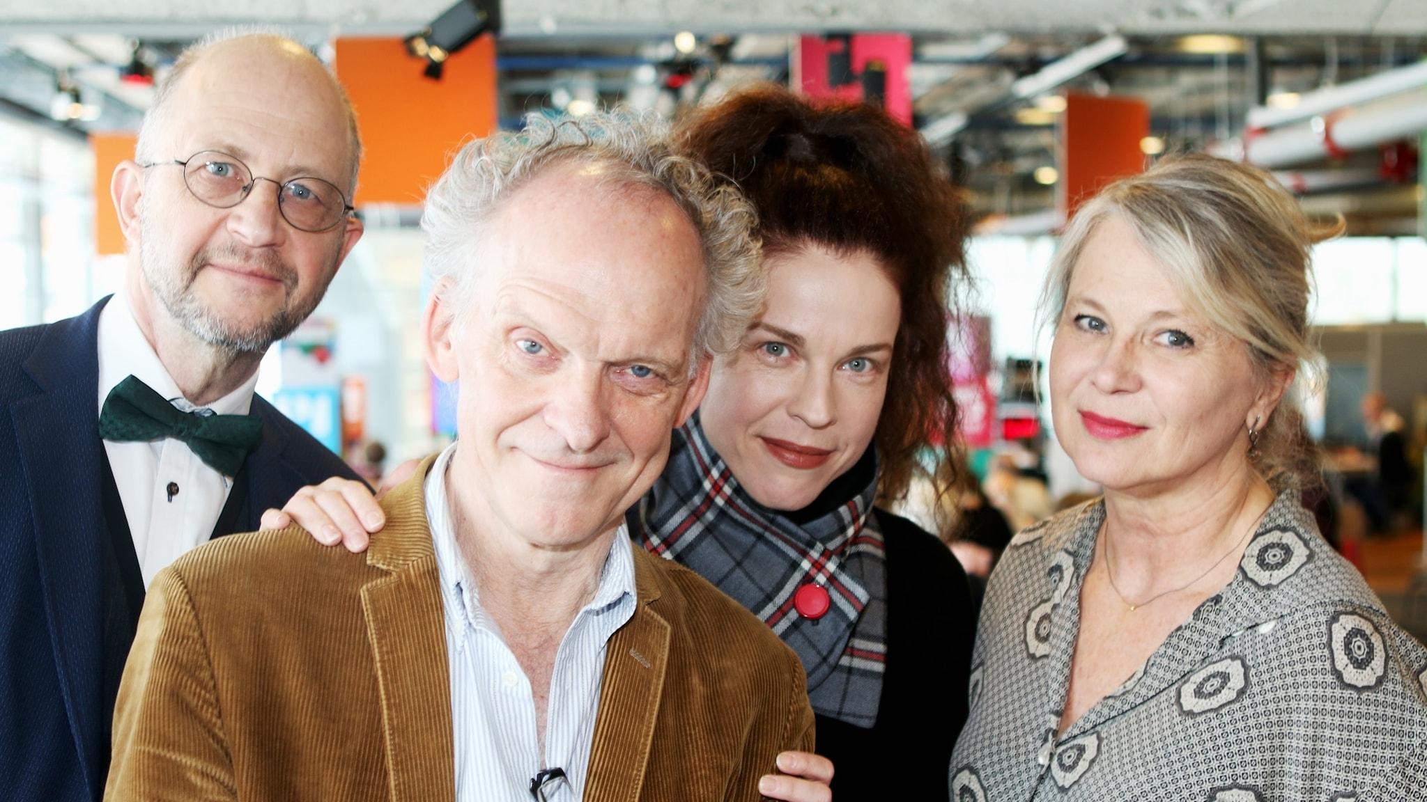 Ingvar Storm med  Per Naroskin, Jessika Gedin och  Helena von Zweigbergk
