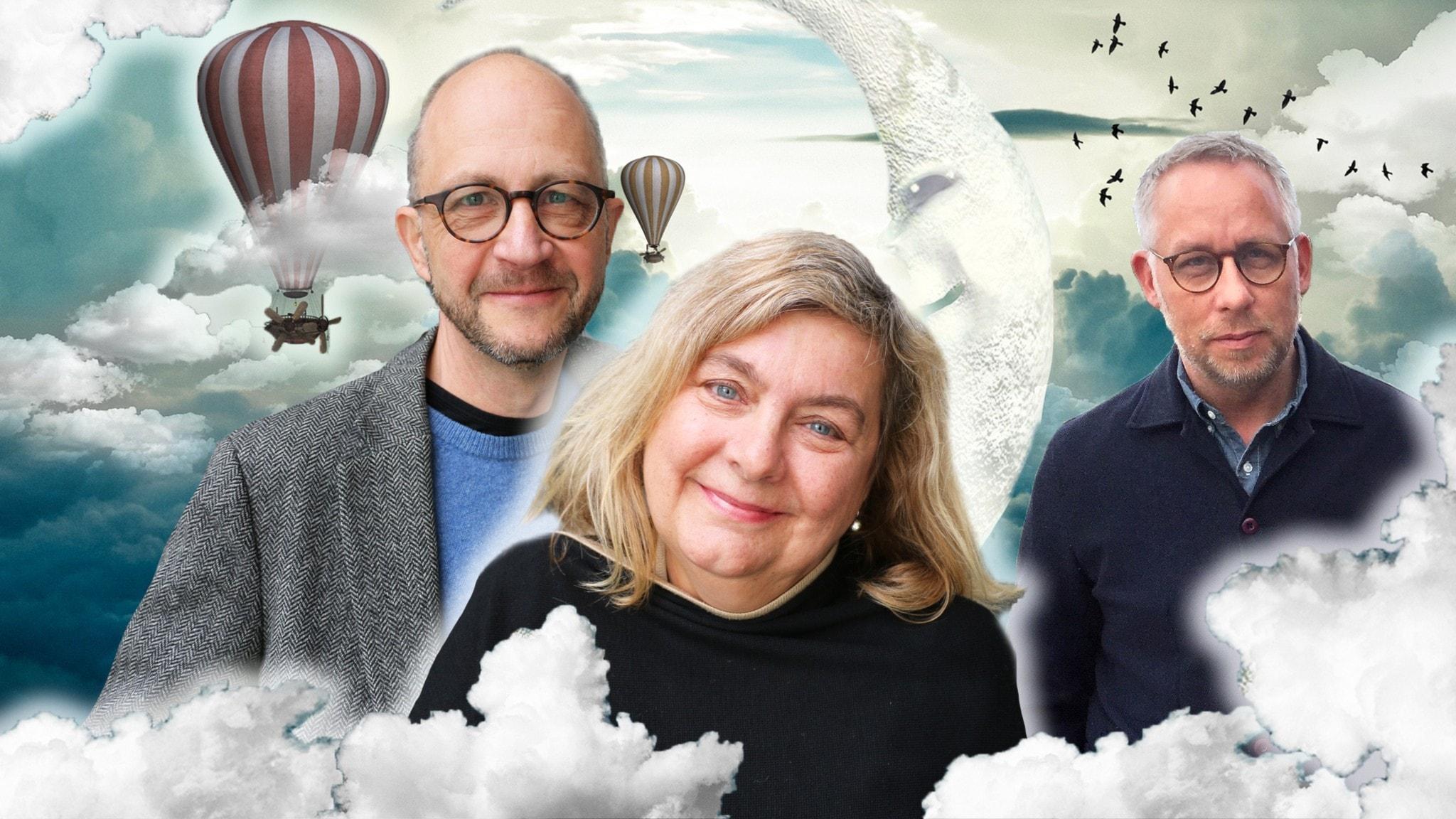 Samhällsspaning med humor! I veckans spanartrio hör vi TV-producenten Annika Sundberg, psykologen Per Naroskin och journalisten Po Tidholm.