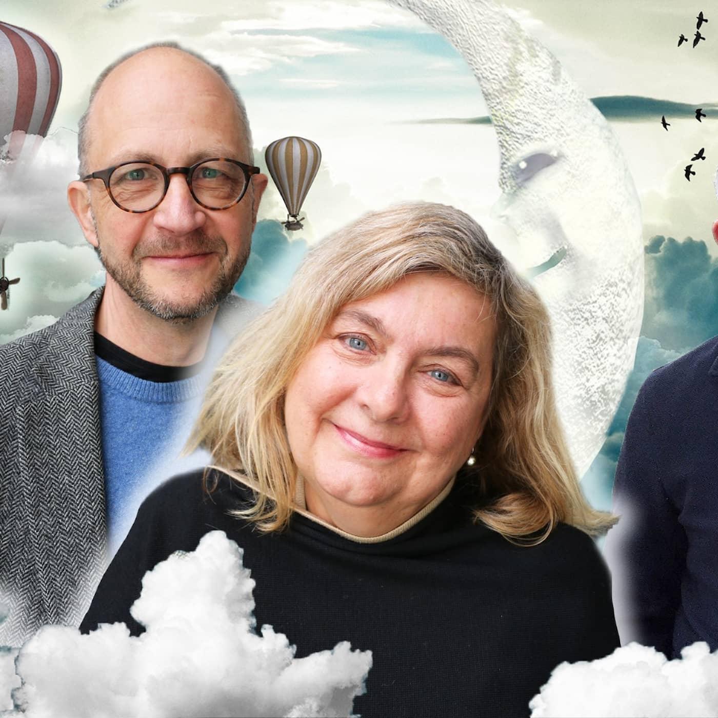 Per Naroskin, Annika Sundberg & Po Tidholm tar sig an framtiden i Spanarna
