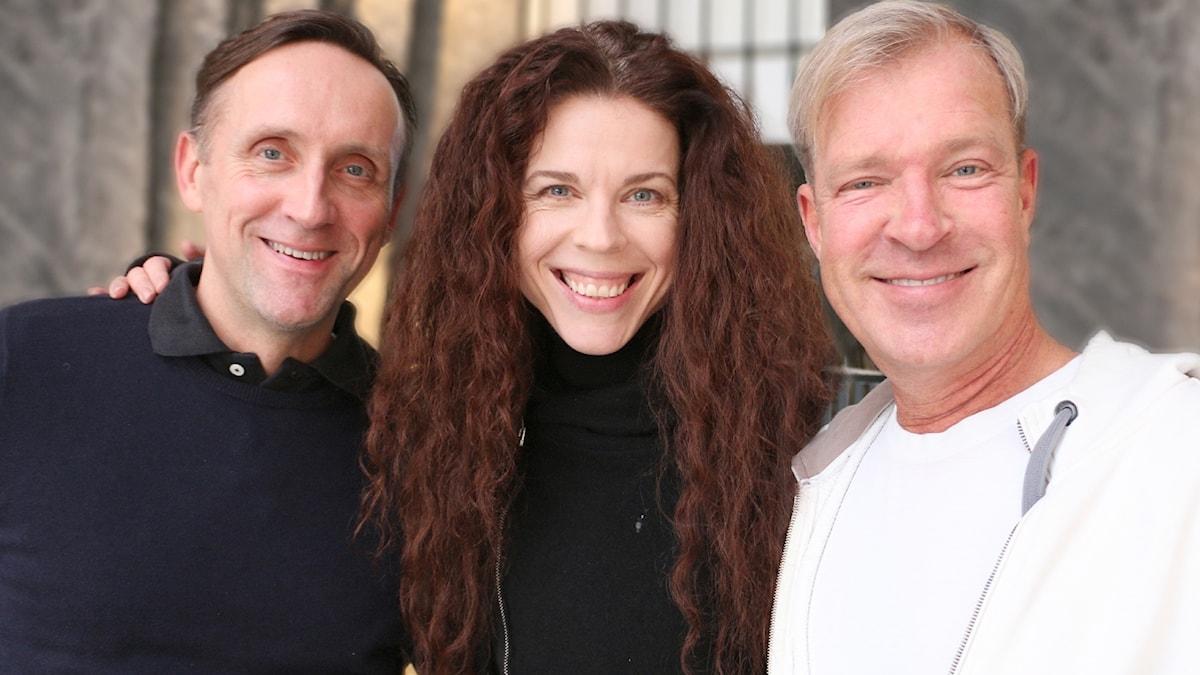 Jessika Gedin, Calle Norlén, Göran Everdahl.