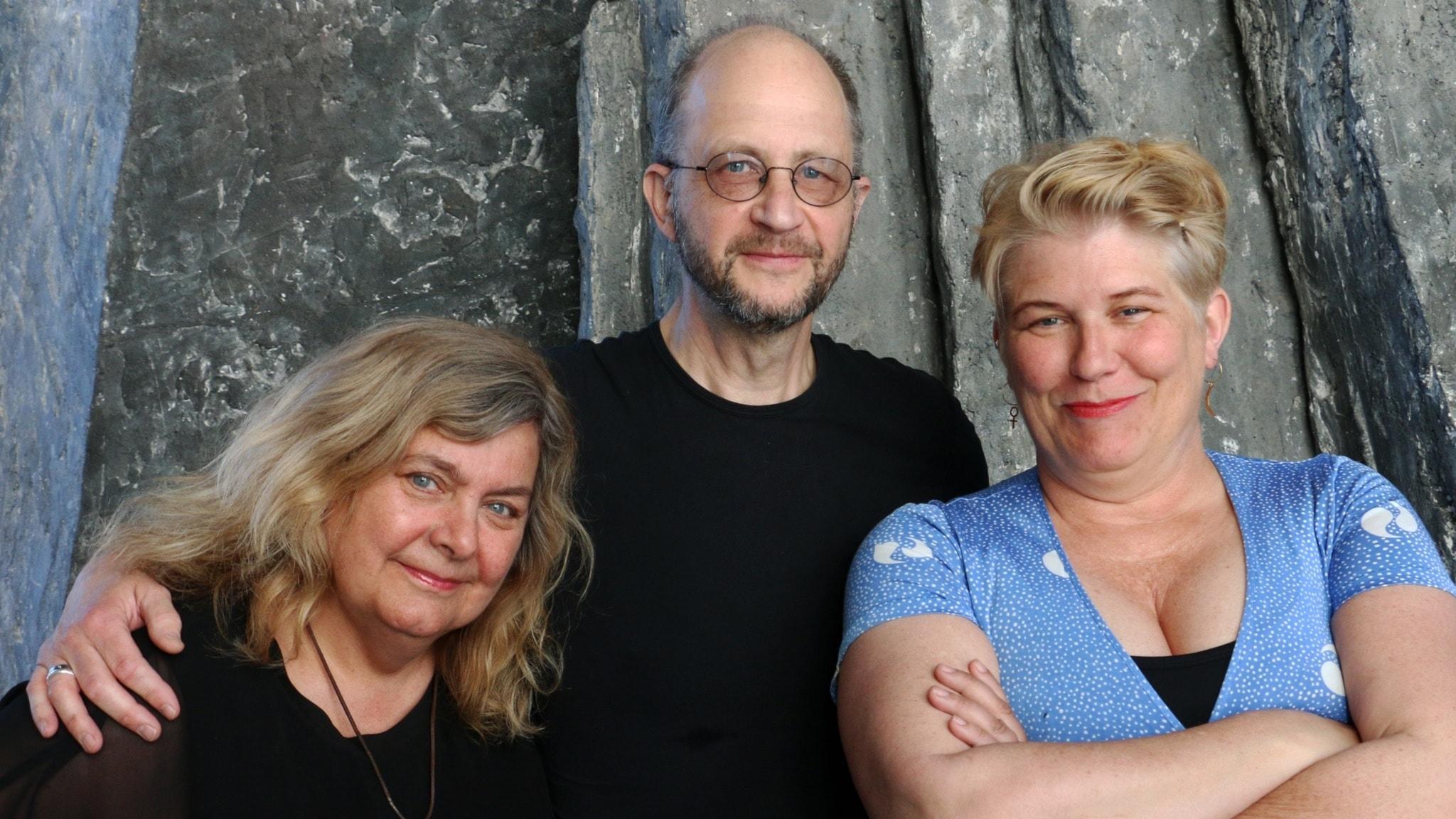 Camilla Lif, Per Naroskin och Annika Sundberg
