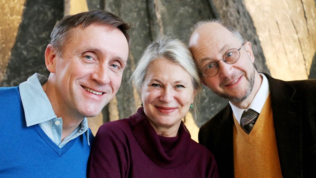 Göran Everdahl, Helena von Zweigbergk och Per Naroskin