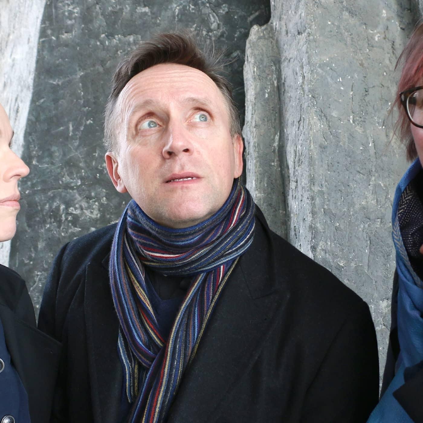 Jessika Gedin, Göran Everdahl och Maja Aase