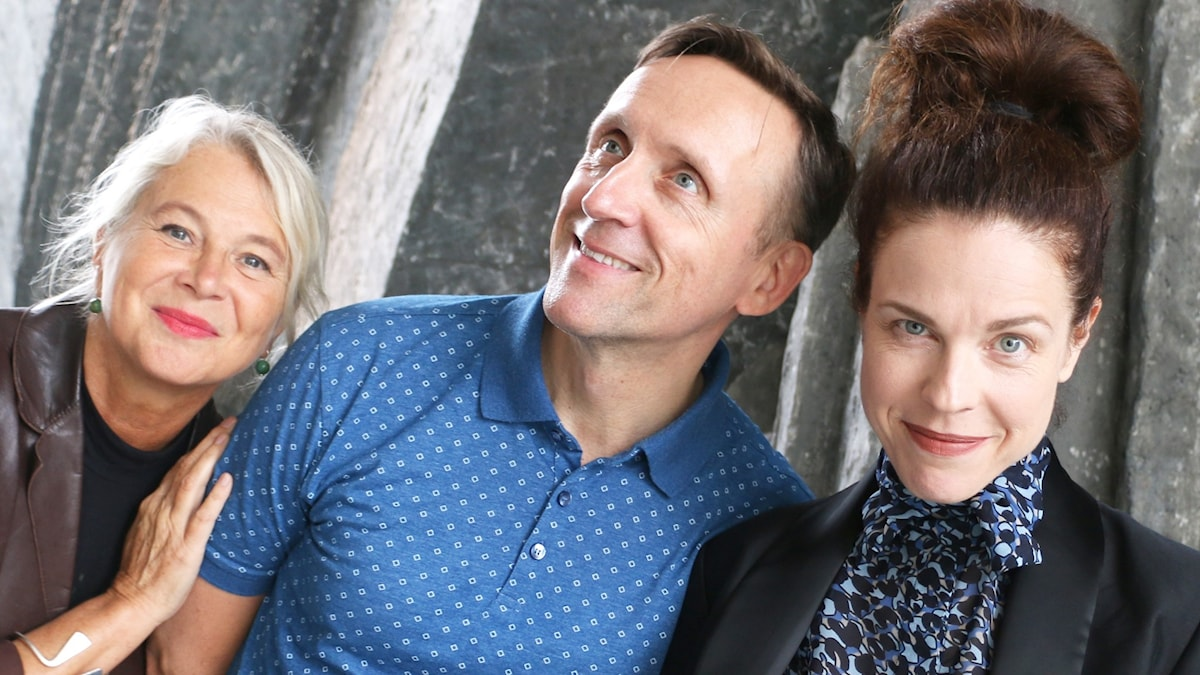 Jessika Gedin, Göran Everdahl och Helena Von Zwiegbergk i spanarpanelen