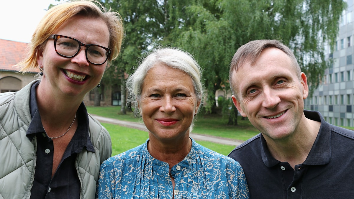 Maja Aase, Helena von Zweigbergk och Göran Everdahl