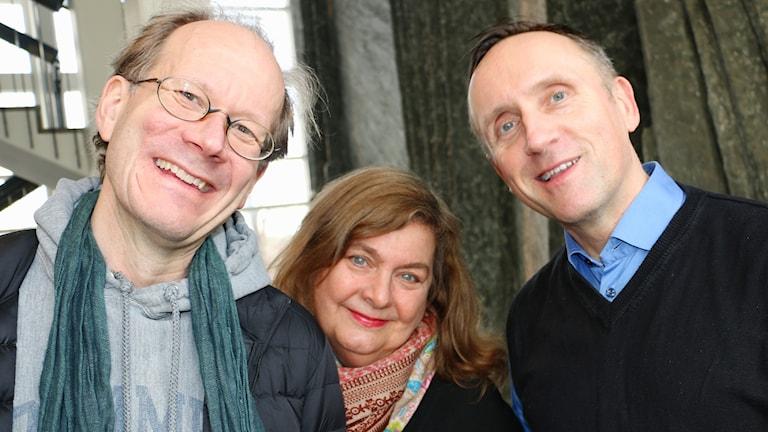 Johan Hakelius, Annika Sundberg och Göran Everdahl