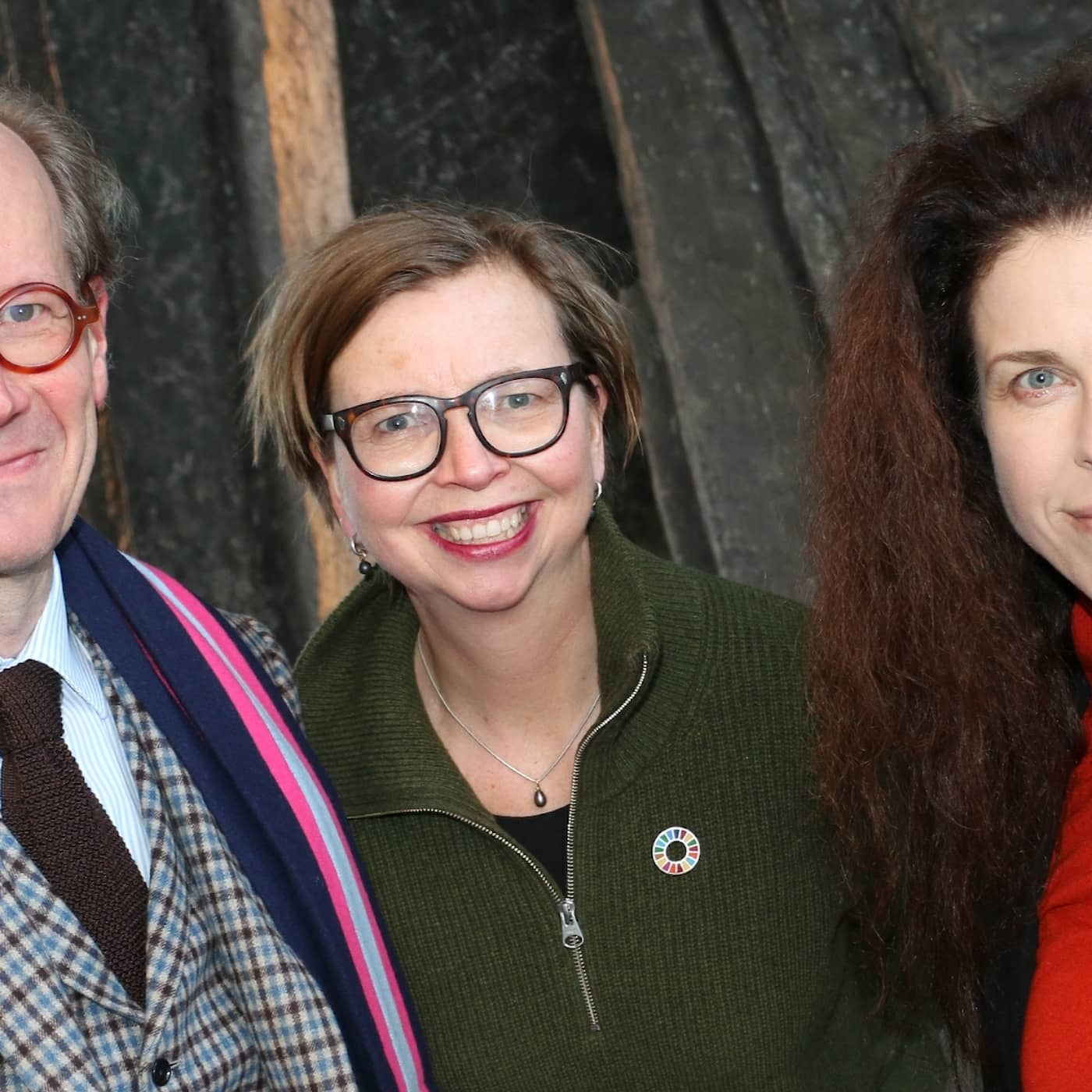 Maja Aase, Johan Hakelius och Jessika Gedin