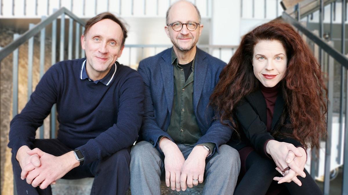 Göran Everdahl, Per Naroskin och Jessika Gedin står för veckans spaningar