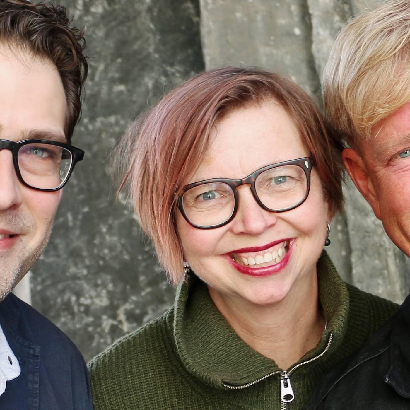 Niklas Källner, Maja Aase och Calle Norlén