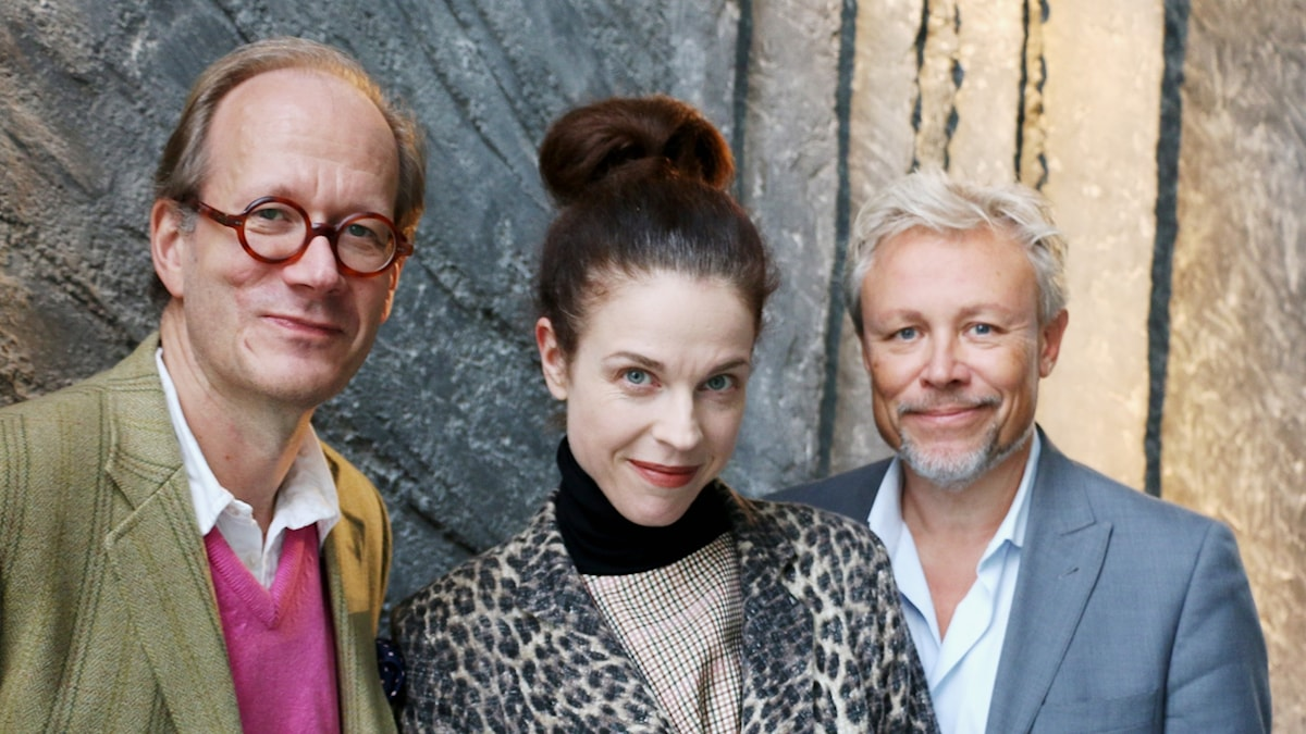 Johan Hakelius, Jessica Gedin och Staffan Dopping.