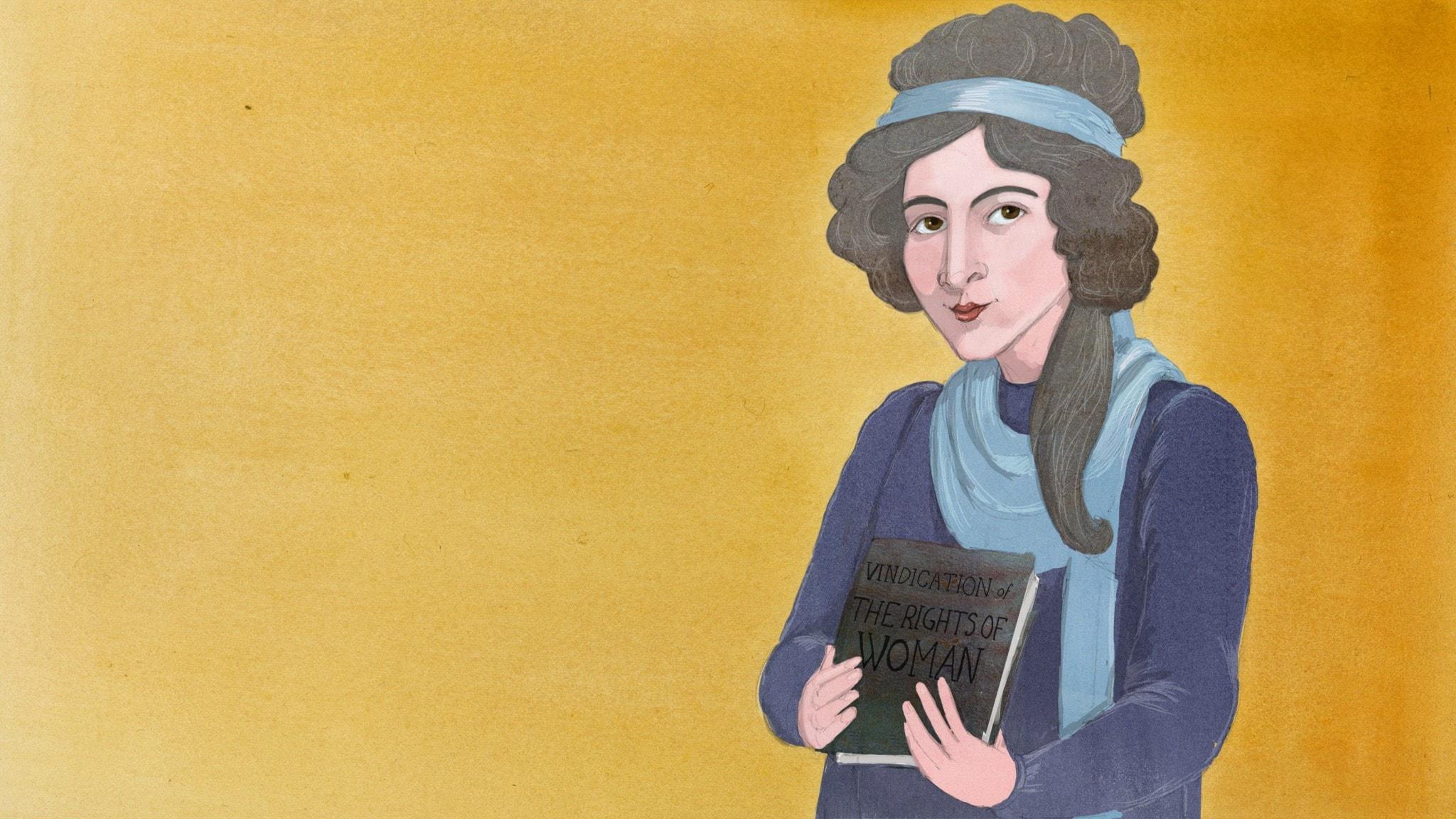 Mary Wollstonecraft - spänningssökande författare och feminist