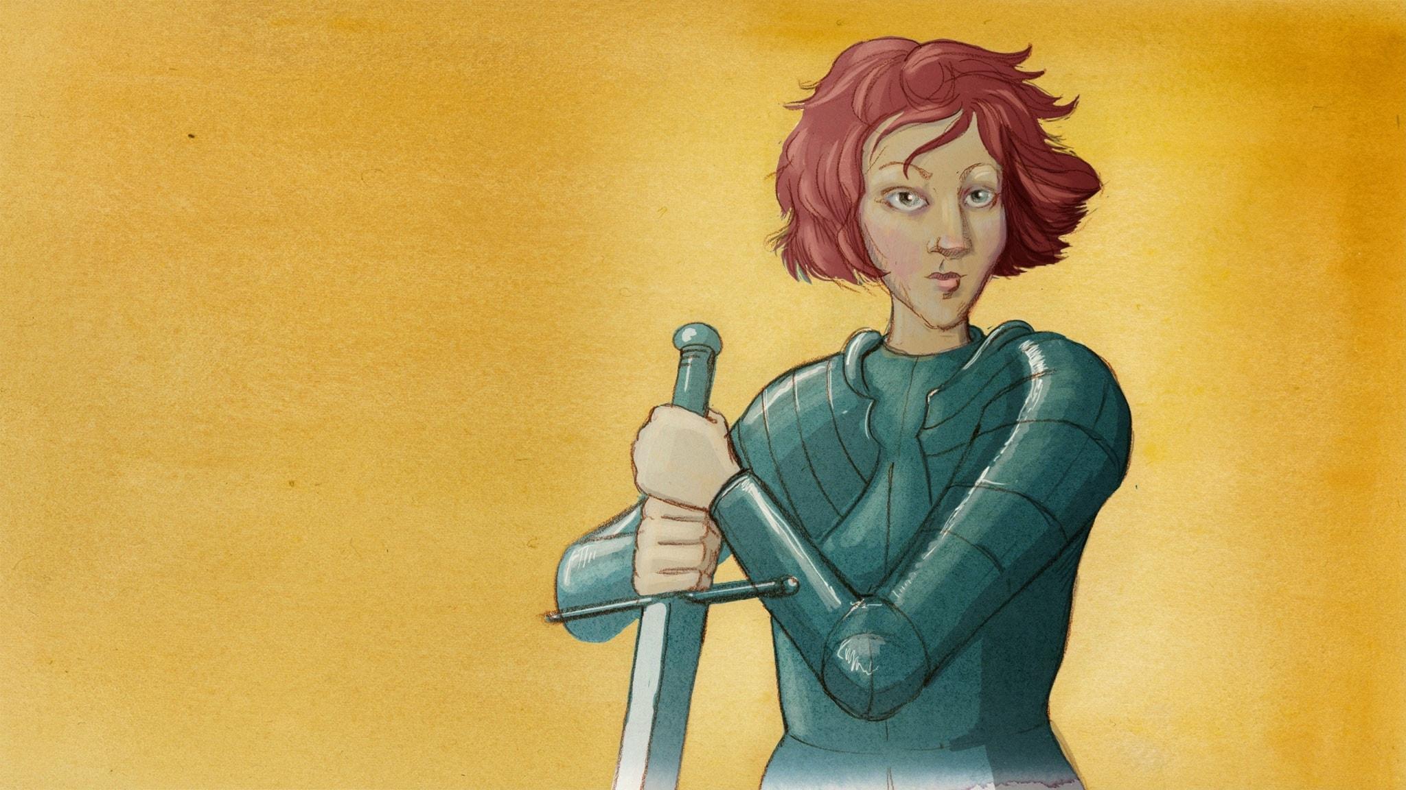 Jeanne d'Arc – bondflickan som ledde kungens arméer