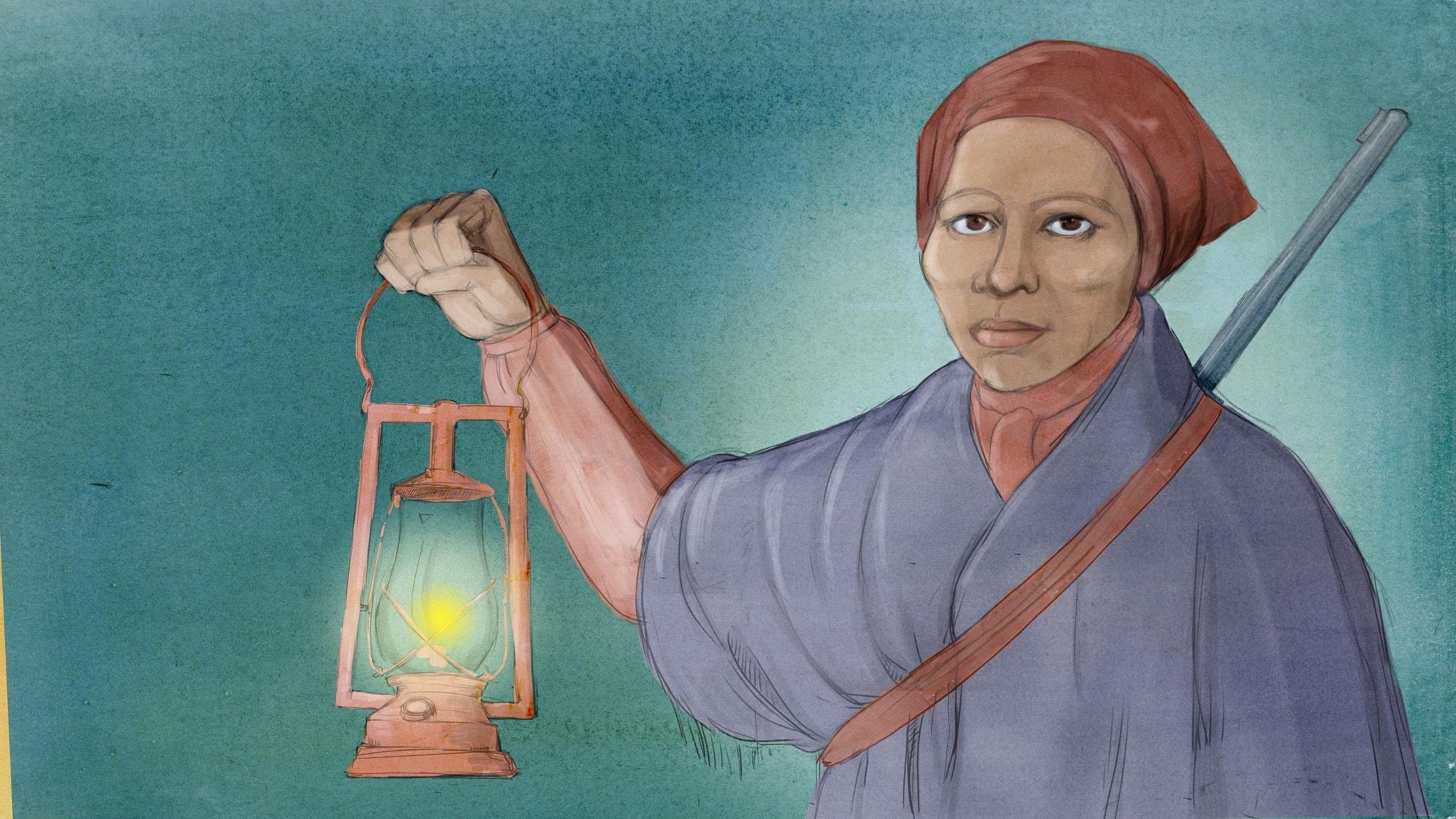 Harriet Tubman - Konduktör på den underjordiska järnvägen