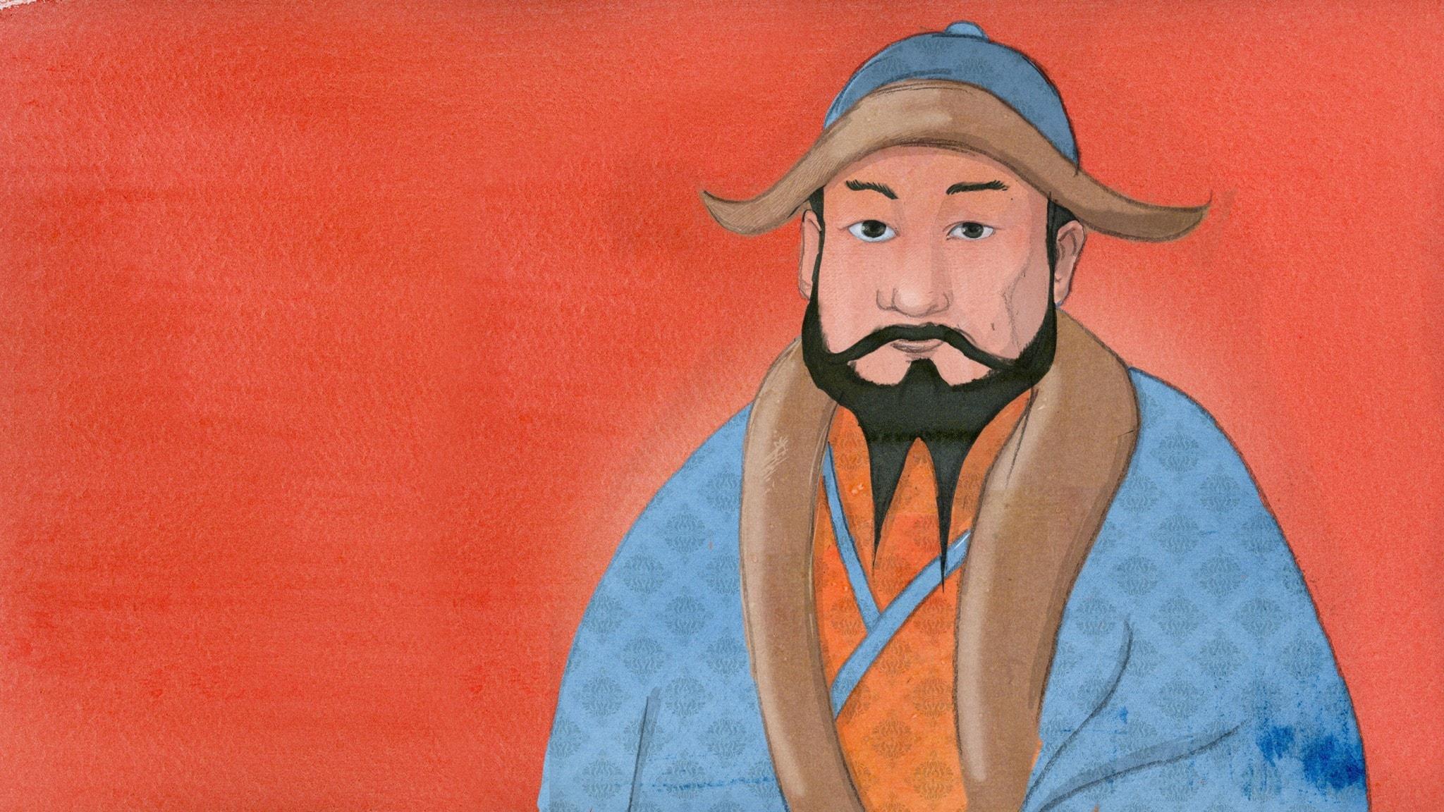 Kublai Khan - barnbarnet och världshärskaren