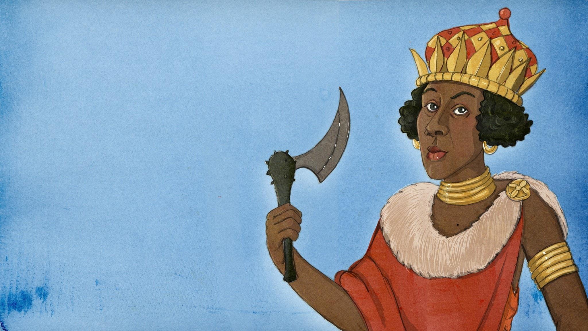 Historierummet om Drottning Nzinga