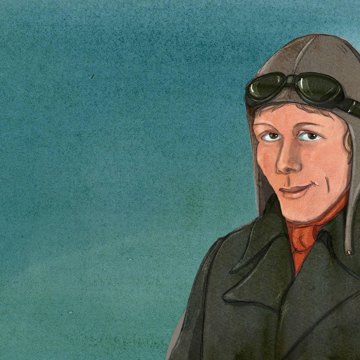 Amelia Earhart - piloten som tog kvinnors frihet till nya höjder