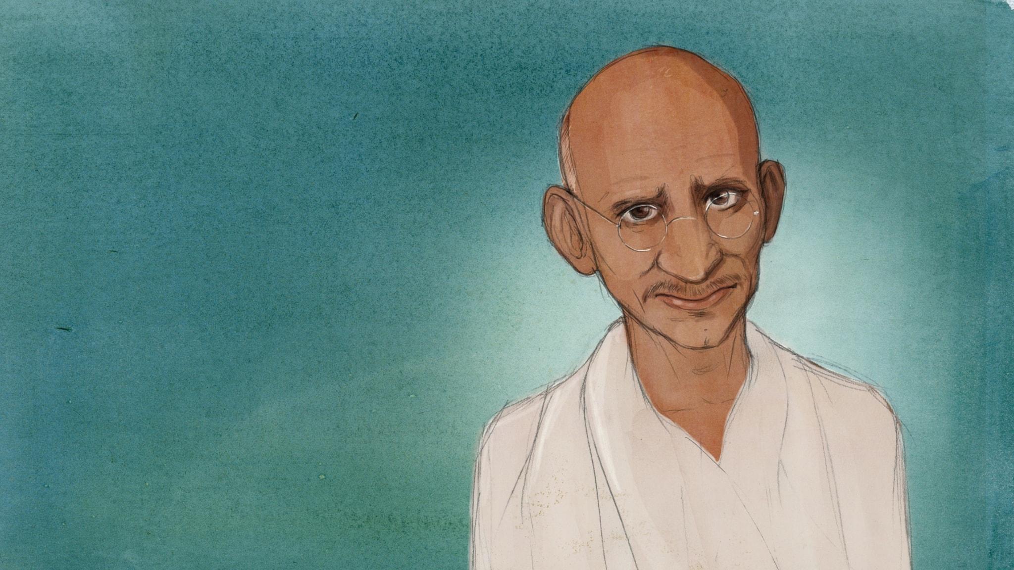 Mahatma Gandhi - Frihetskämpen från Indien