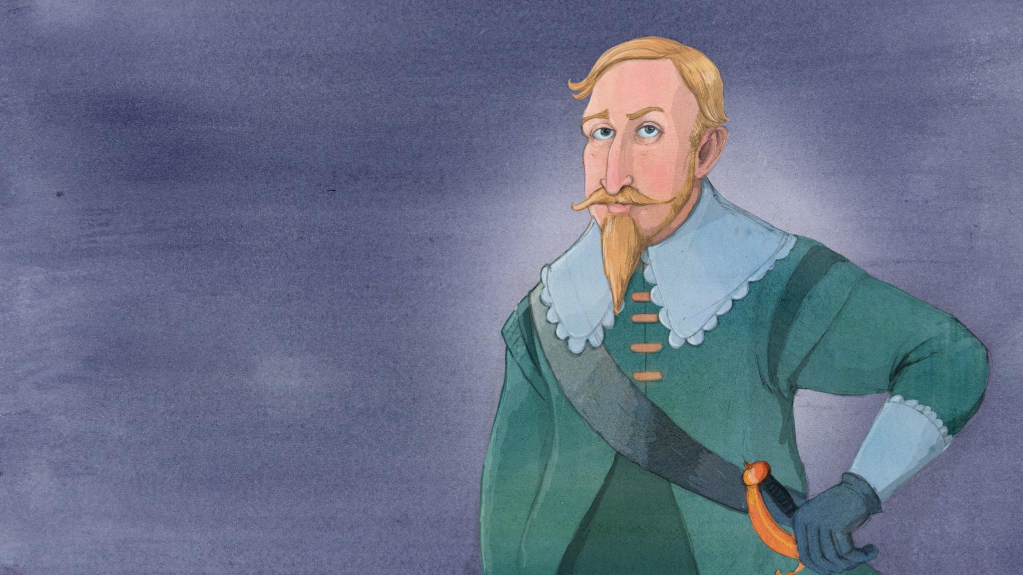 Gustav II Adolf - han som la grunden till en stormakt