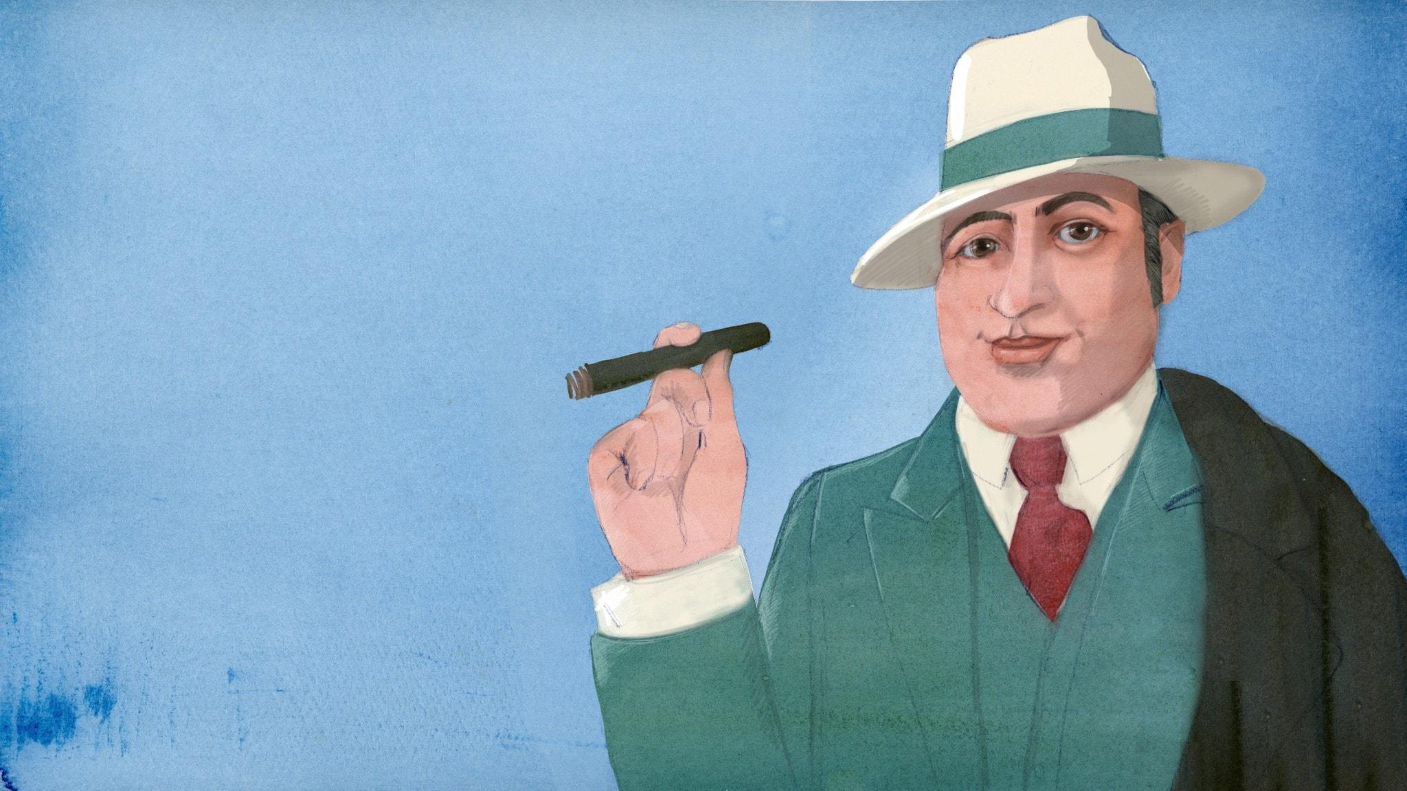 Al Capone - Gangstern med det snälla ansiktet och elaka planerna