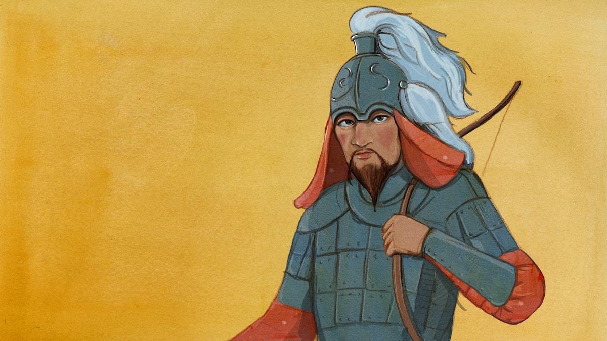 Djingis Khan – skräckstyre på mongoliska stäppen