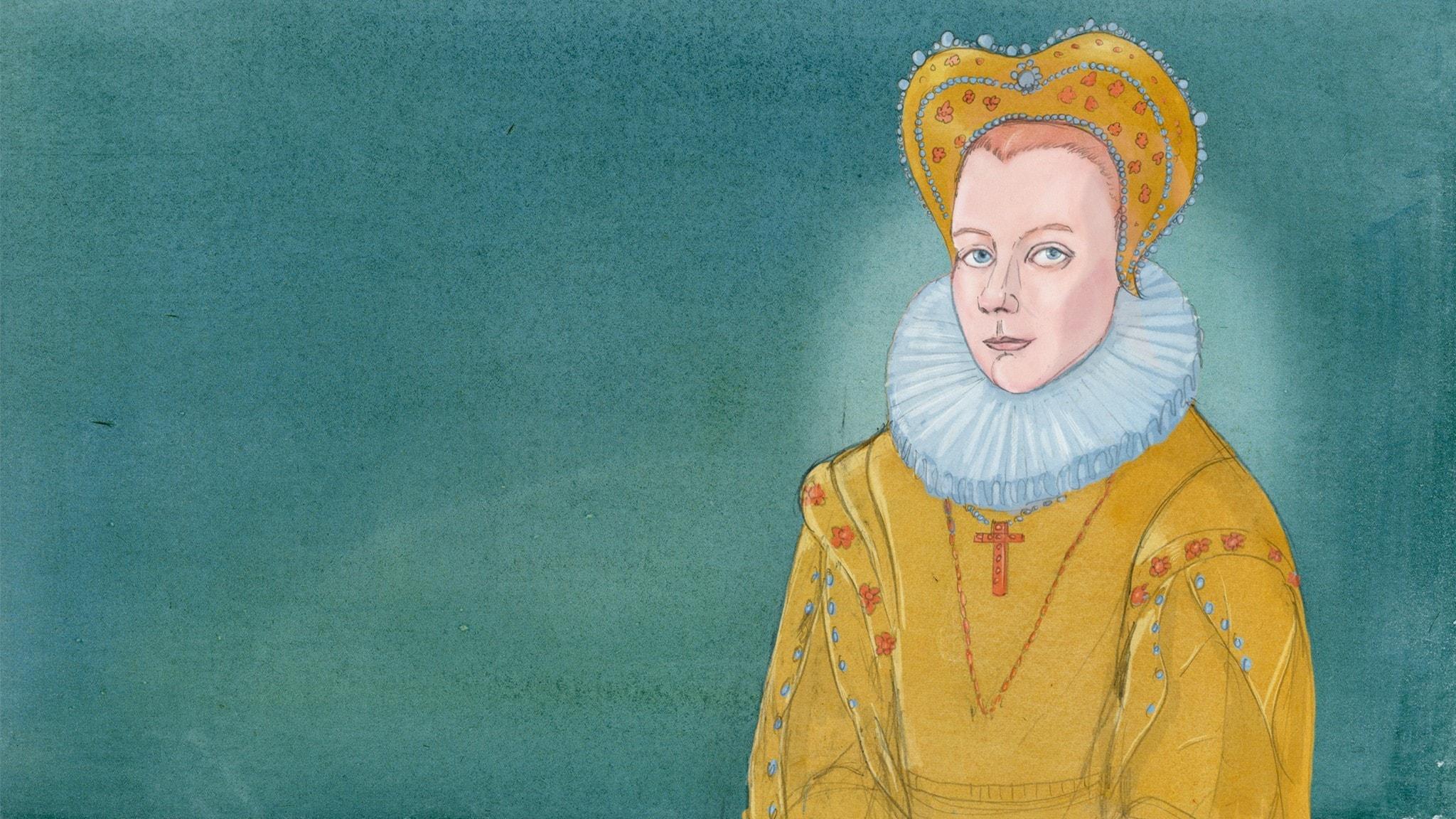 Karin Månsdotter - pigan som blev drottning