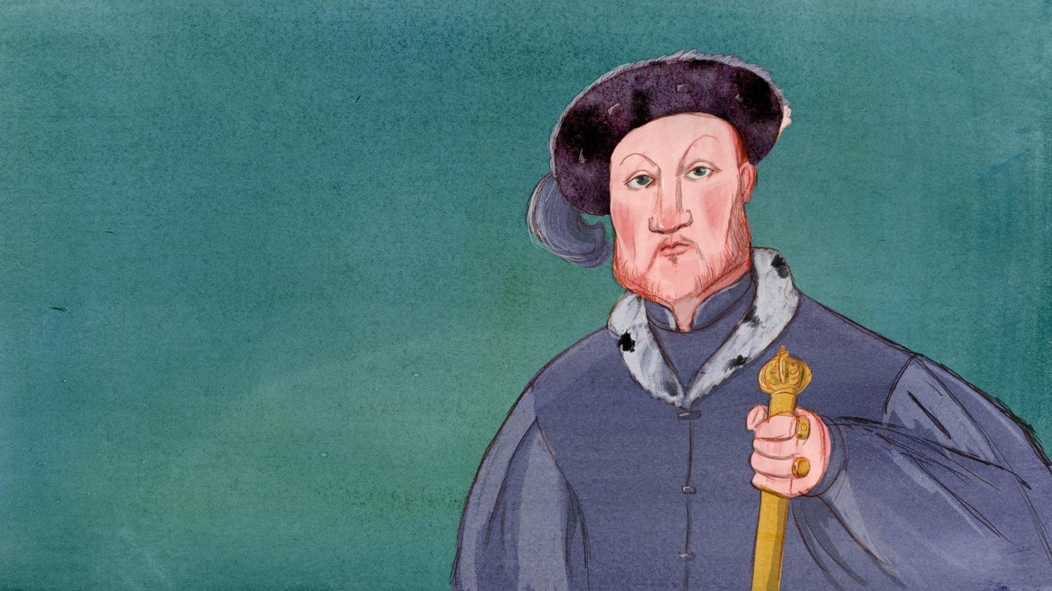 Henrik VIII – kvinnotokig och maktgalen