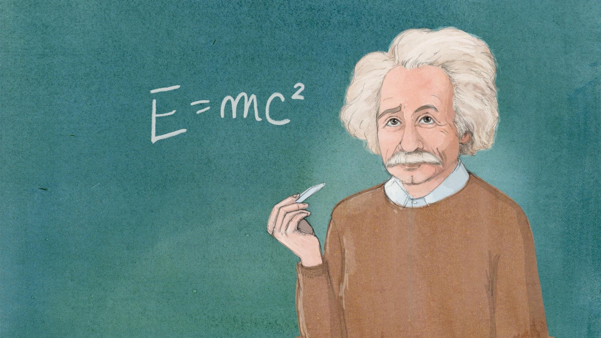 Albert Einstein - ett av världens mest kända genier