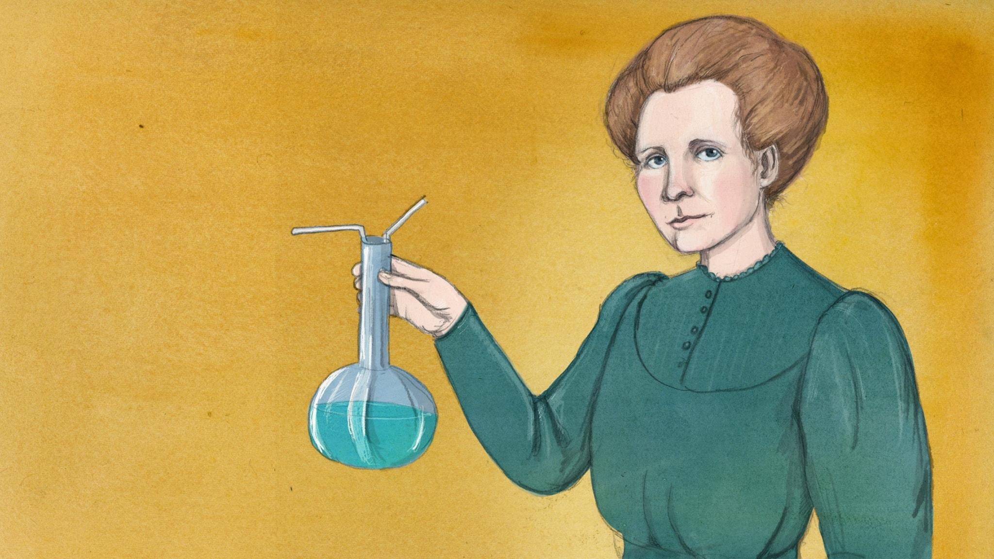 Marie Curie - Vetenskapskvinnan som blev världsunik