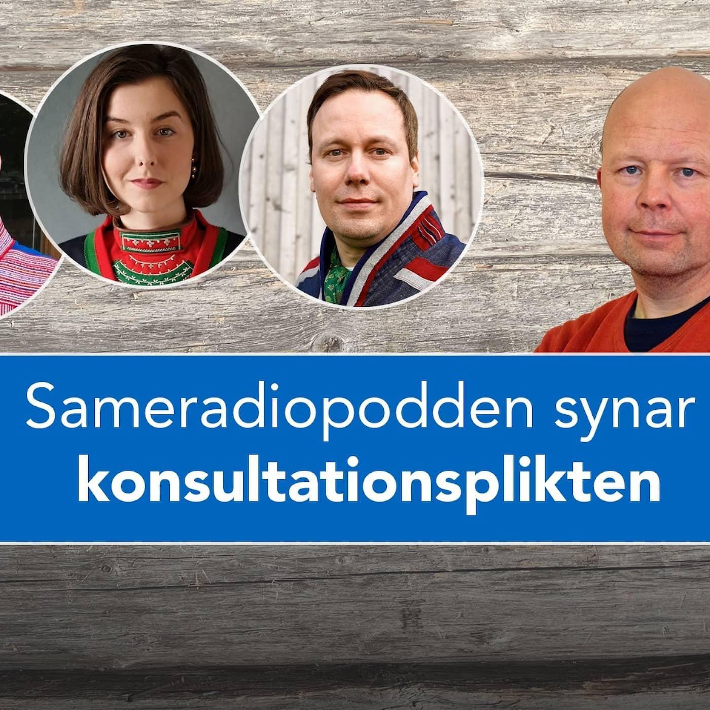 Politik Sápmi - Sameradiopodden synar konsultationsplikten med samer