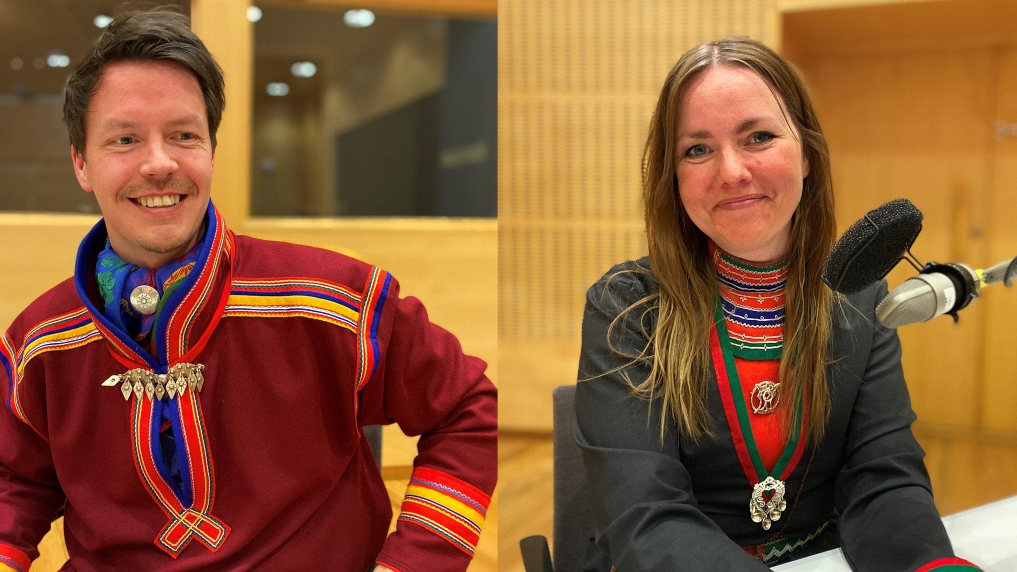 Lars-Miguel Utsi och Marie Persson Njajta