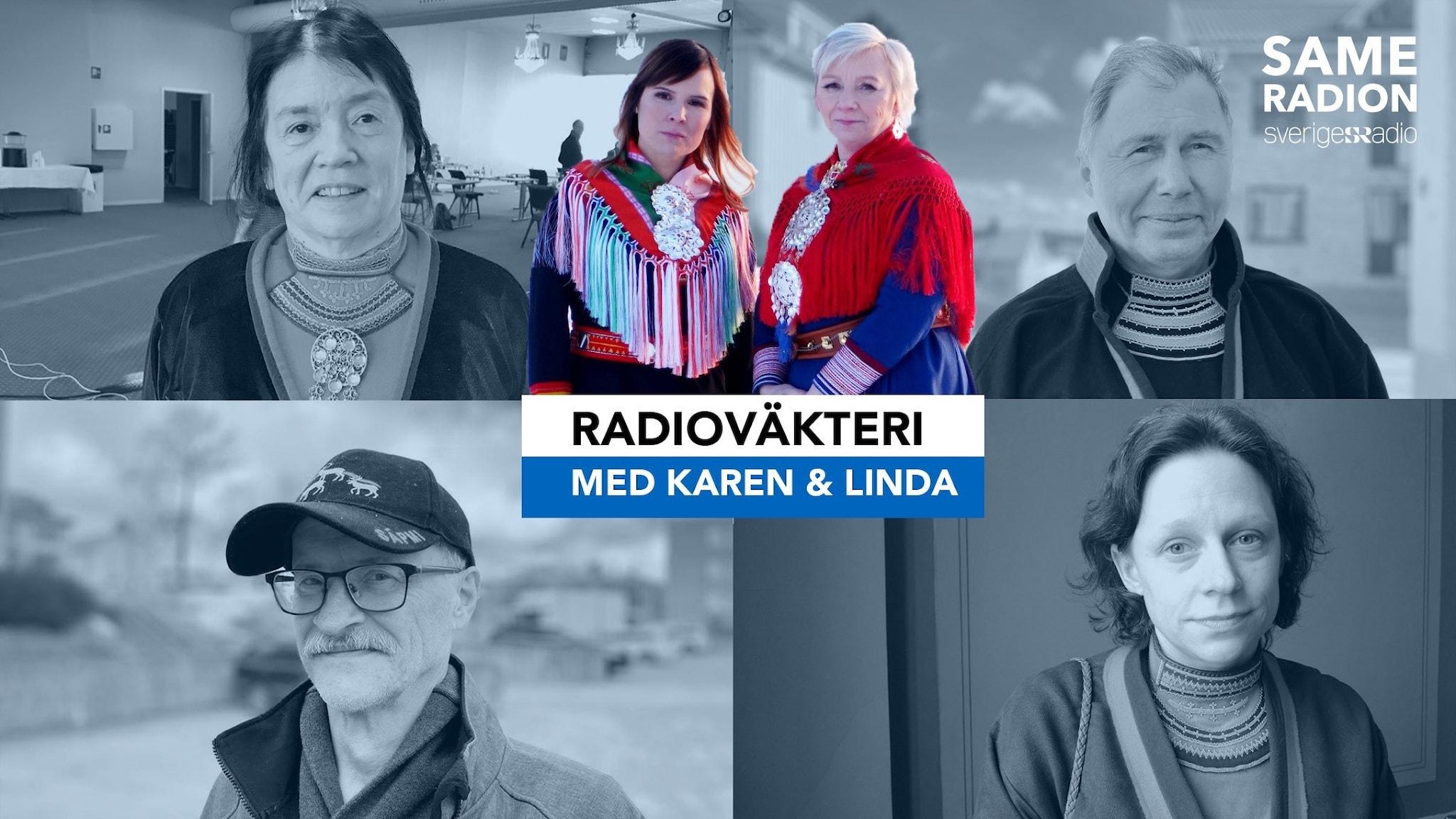 Sameradion Radioväkteri inför sametingsvalet 2021.