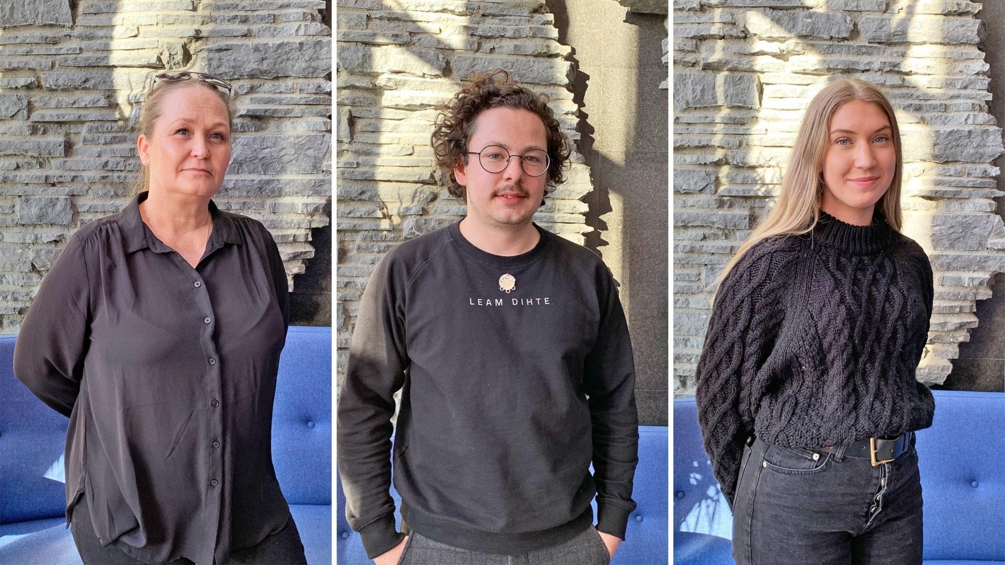 Sapmi snackar i Staare. Gäster: Anita Olofsson, William Stenvall Zetterström och Jenny Jernunger.