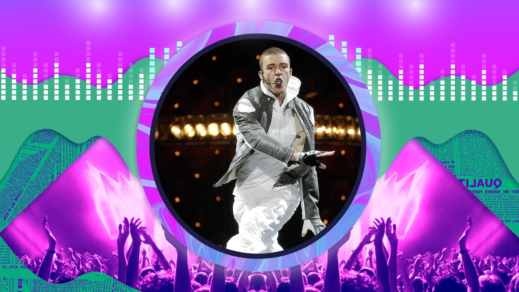 Justin Timberlake - popprinsen och skandalerna