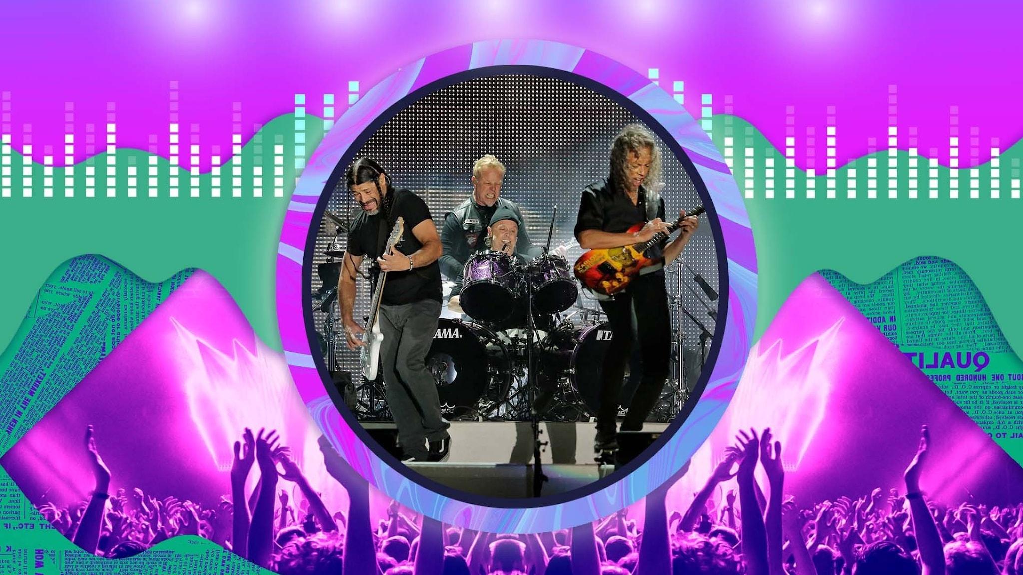 P3 musikdokumentär om bandet Metallica