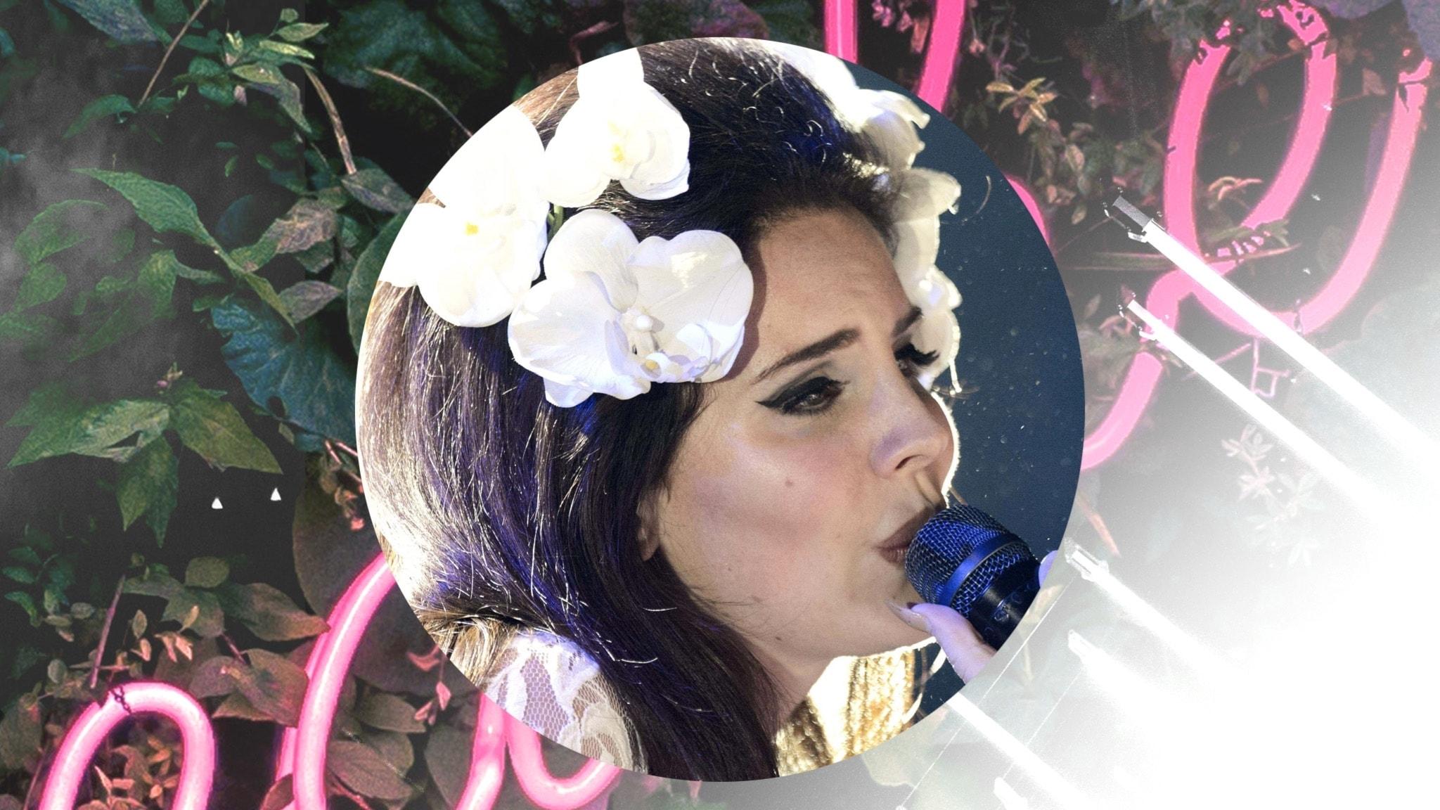 Lana Del Rey – Drottningen av sad girls  - spela
