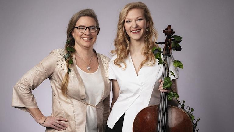 Pernilla Eskilsdotter och Amalie Stalheim
