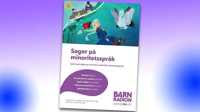 Affisch för Sagor på minoritetsspråk