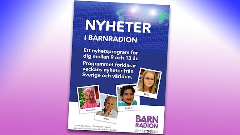 Affisch för Nyheter i barnradion