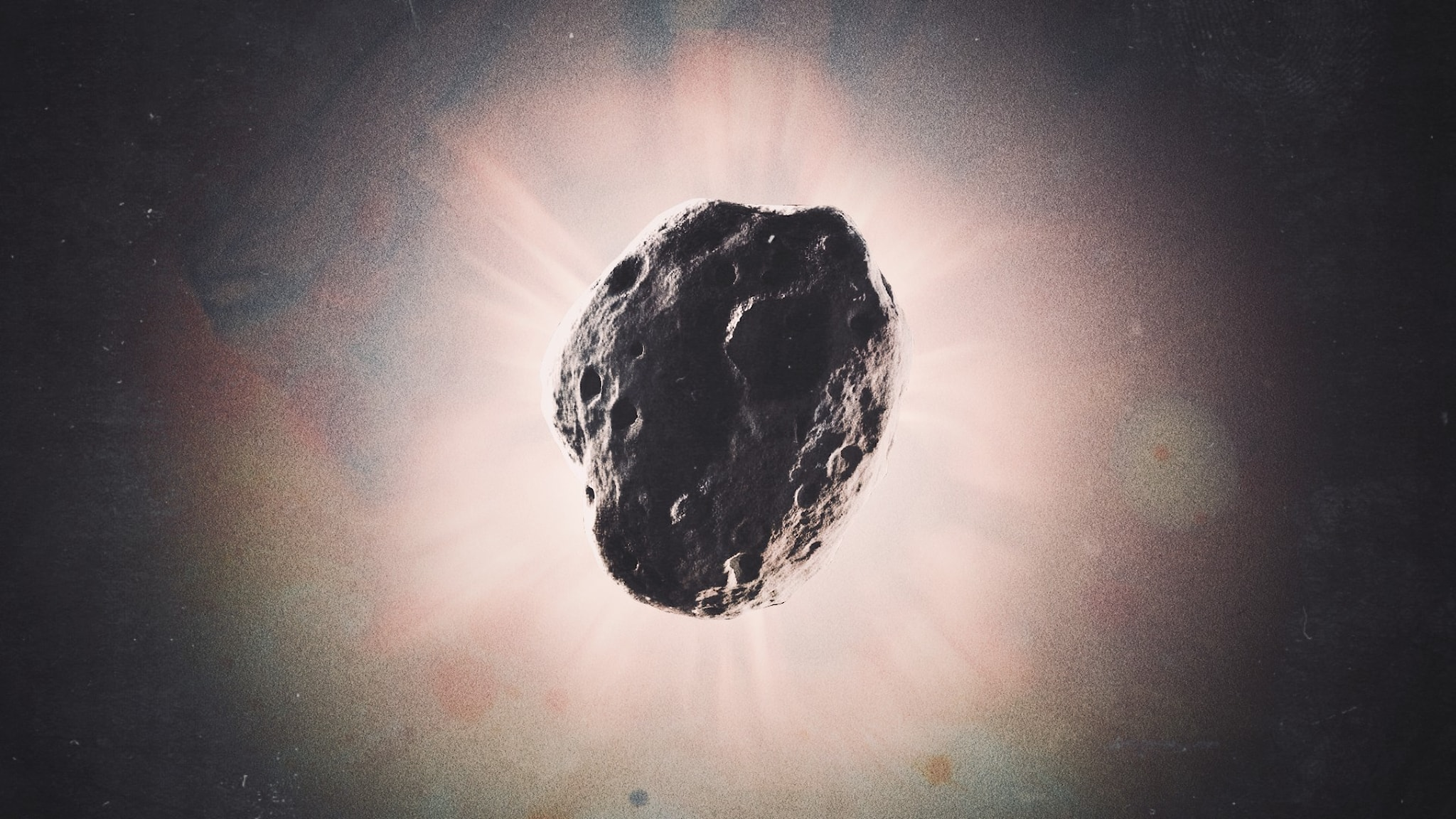 En asteroid