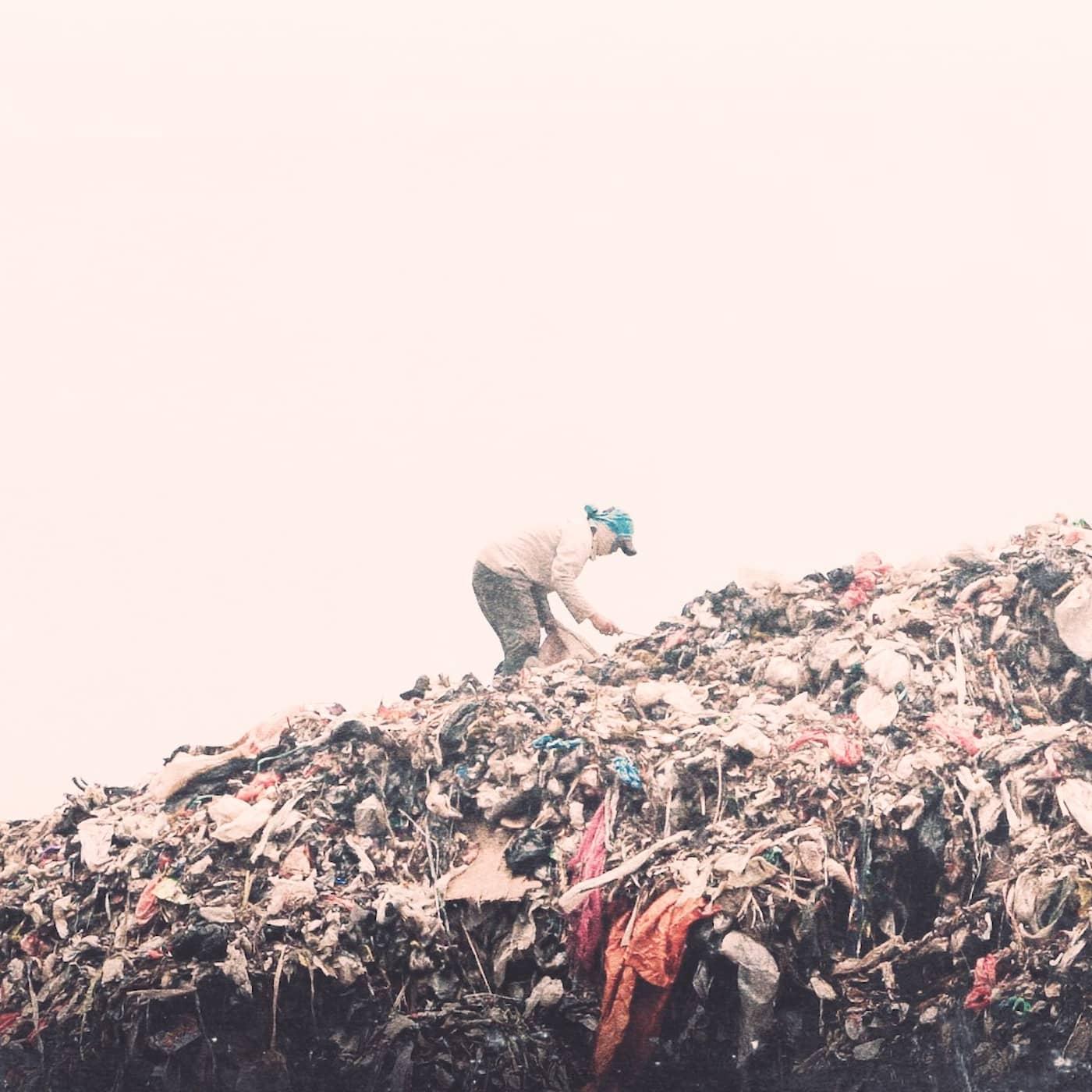 En värld som drunknar i sopor