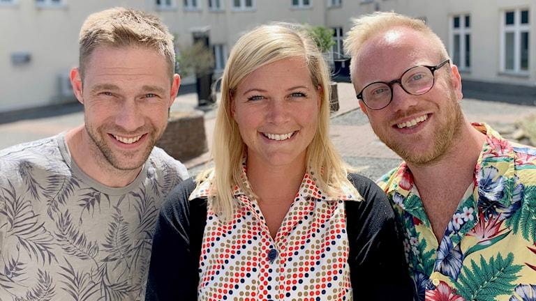Med Daniel Kjellander, Rebecka Gyllin & Daniel Wallin