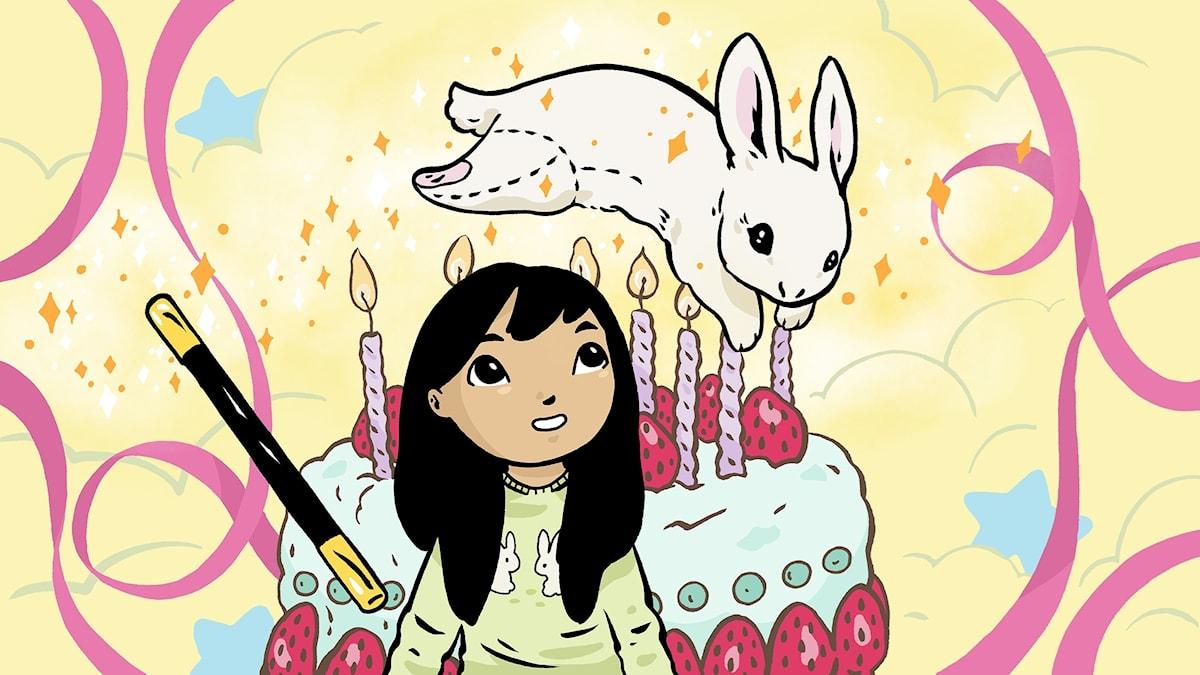 Hemlis, del 1. Jasmine ska fylla 7 år och önskar sig mest av allt en kanin, en riktig kanin. Bild: Sofia Falkenhem