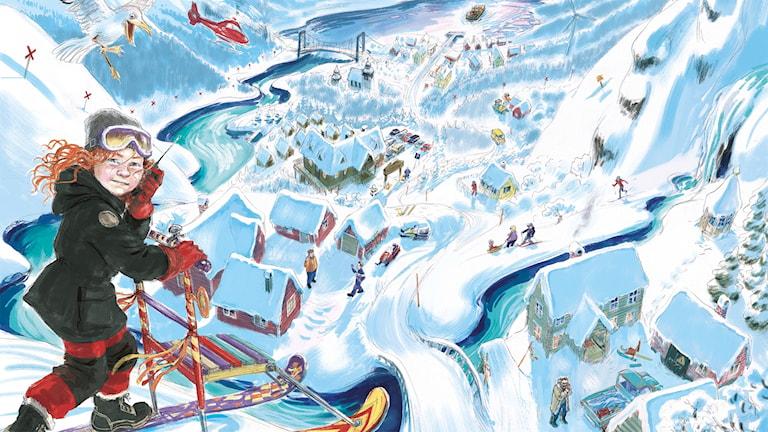 Programbild för Julkalendern 2018: Tonje i Glimmerdalen