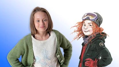 Julkalendern: Freja Taavola spelar huvudrollen som Tonje. SR.Web.CssMapping.CssClass