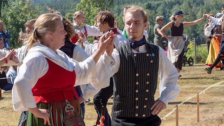 Folkdansaren Christina Björnsdotter